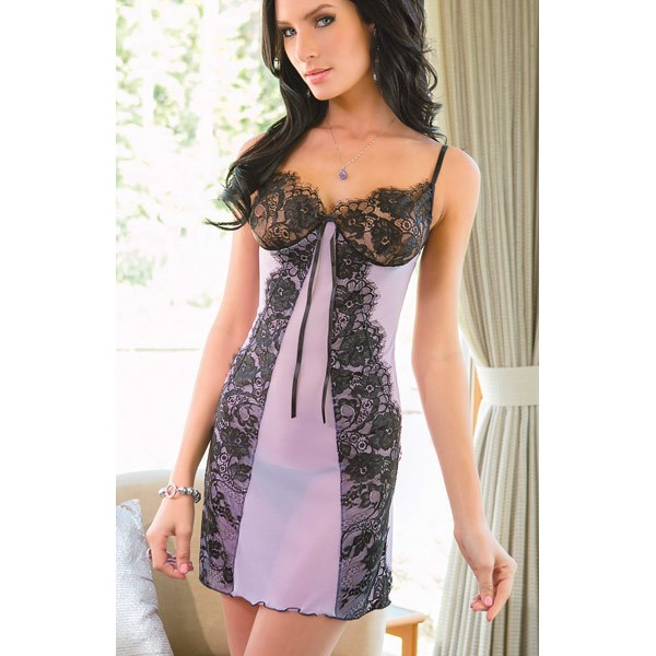 Lovely In Lilac Chemise
