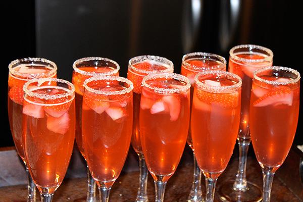 Strawberry-Sparklers